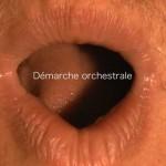 Demarche orchestrale