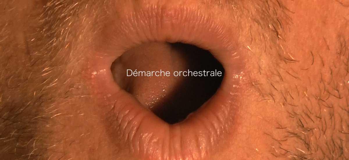 Démarche Orchestrale